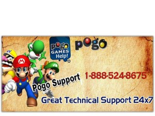 Pogo Game online service number 1-888-524-8675