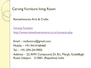 Carving Furniture living Room
