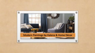 Modern Paintings by Halena & Home Décor