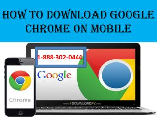 How to download Google chrome on mobile