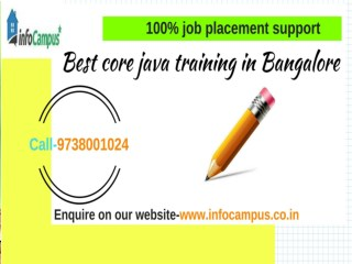 Best core java training in Bangalore(1)