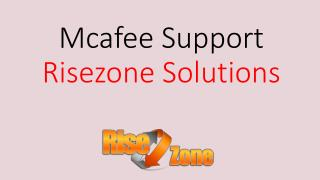 Mcafee Support | Risezone Solutions