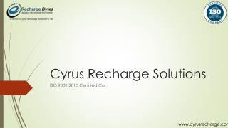 Online Business Proposal for Recharge Business