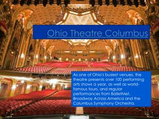 Ohio Theatre Columbus|614-469-0939
