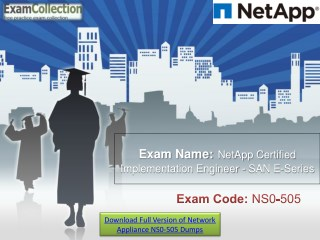 NS0-505 Study Material & Real NS0-505 Braindumps | Examcollection.in