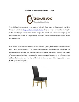 Cheap Dining Room Table and Chairs Set Online | Chocolate Wood
