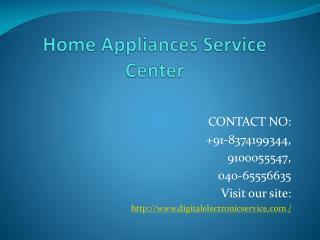 Home Appliances Service Center