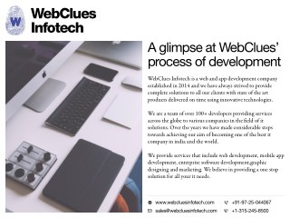 Website Designing, Mobile Application Development, UI/UX, Digital Marketing - WebClues Infotech