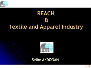 REACH  &  Textile and Apparel Industry