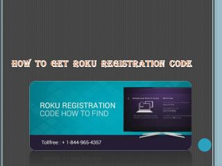 How  To  Get  Roku  Registration  Code