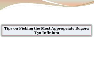 Tips on Picking the Most Appropriate Bugera T50 Infinium