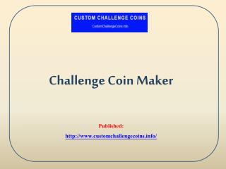 Challenge Coin Maker