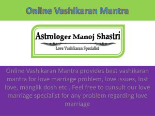 Get Love Marriage Solution