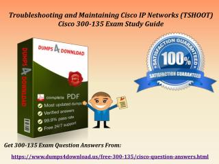 Download 300-135 Braindumps - Cisco 300-135 Real Exam Questions Dumps4Download