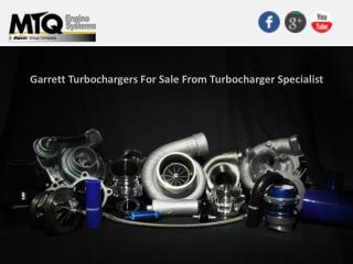 Garrett Turbochargers For Sale From Turbocharger Specialist