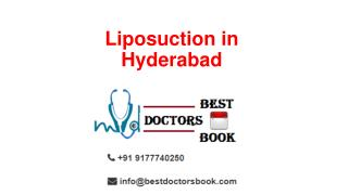Liposuction in Hyderabad | Liposuction Cost in Hyderabad