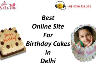 CakenGifts.in is the Best Site For Birthday Cakes