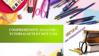 COMPREHENSIVE ANALYSIS / TUTORIALOUTLET DOT COM