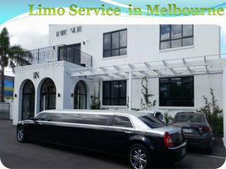 Limo Service in Melbourne
