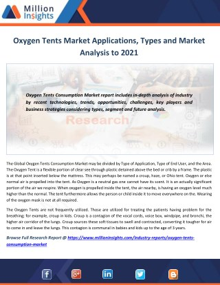 Oxygen Tents Market Share, Growth, Outlook to 2021