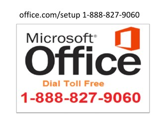 office.com/setup | 1-888-827-9060