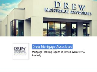 Drew Mortgage Associates - Mortgage Company in Boston, MA
