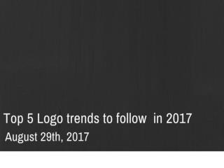 Top 5 logo trends to follow in 2017 | Newton Consulting