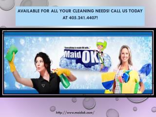 Residential Cleaning Service Norman