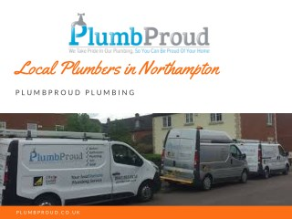 Local Plumbers in Northampton