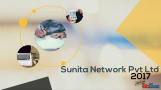 Sunita Network Pvt. Ltd. is one of the fastest growing ITES Company