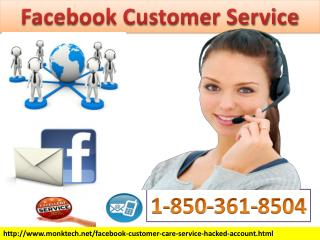 Amazing resolutions From Facebook Customer Service 1-850-361-8504 Team
