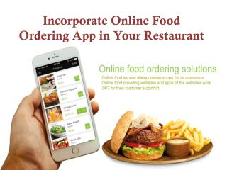More Opportunities for Your Restaurant Online Food Ordering Business