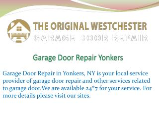 Garage Door Repair Yonkers