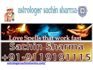 Astrologer Sachin Sharma, Best Hindu Astrology Specialist in India