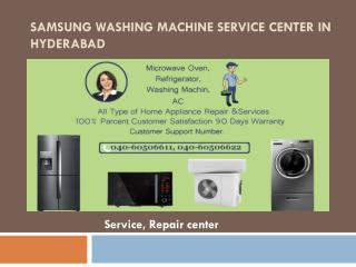 Samsung Washing Machine Service Center in Hyderabad