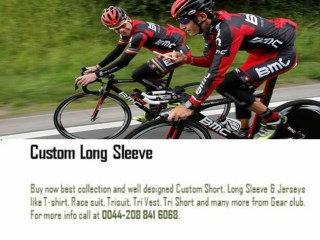 Custom Long Sleeve Jerseys UK