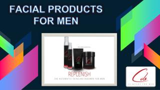 Facial Products For Men