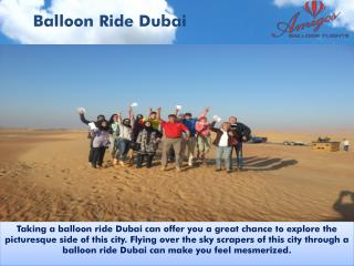 Balloon Ride Dubai