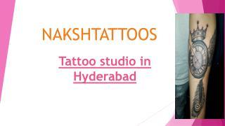 Tattoo studio in Hyderabad | Tattoo Artist in Hyderabad -   Naksh Tattoos