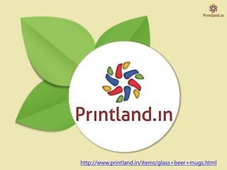 Glass Beer Mugs - Buy Glass Beer Mugs Online in India at PrintLand
