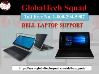 1-800-294-5907 Dell Laptop Support Number Toll Free