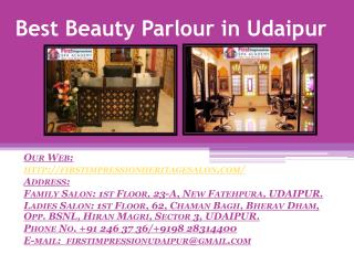 Best Beauty Parlour in Udaipur