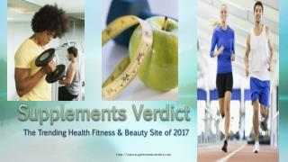 SupplementsVerdict is the No.1 review health website in today's era