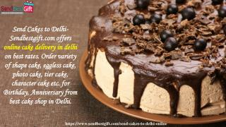 Send Online Cakes to Delhi | Same Day, Midnight Cake Delivery in Delhi