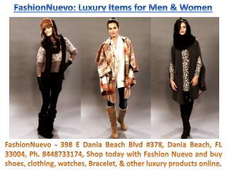 Fashion Nuevo 398 E Dania Beach Blvd #378, Dania Beach, FL 33004, Ph. 8448733174