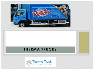Therma Truck Company for High-Quality Refrigerated Trucks