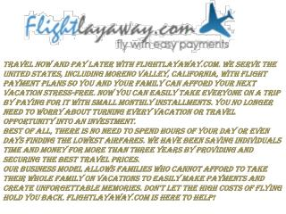 TRAVEL NOW WITH AFFORDABLE INSTALLMENT PAYMENT AND FLIGHT PAYMENT PLANS