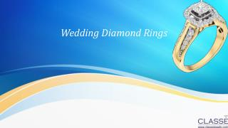 Buy  Wedding diamond rings  Online only at Classejewels