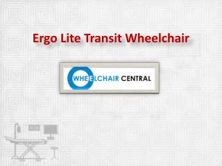 Ergo Lite Transit Wheelchair , Karman Ergonomic Wheelchair - wheelchaircentral.in