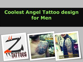 Coolest Angel Tattoo design for Men